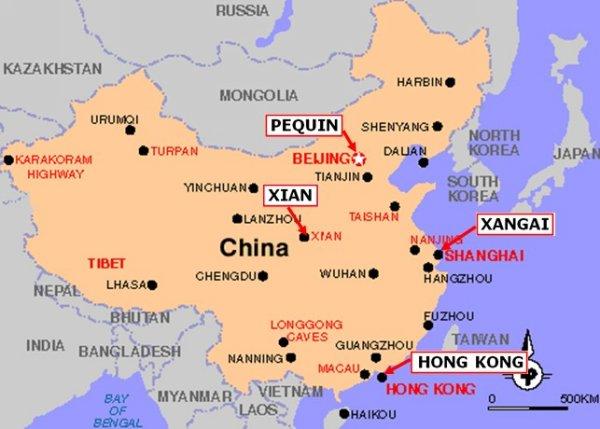 china mapa Facts about China   China china mapa